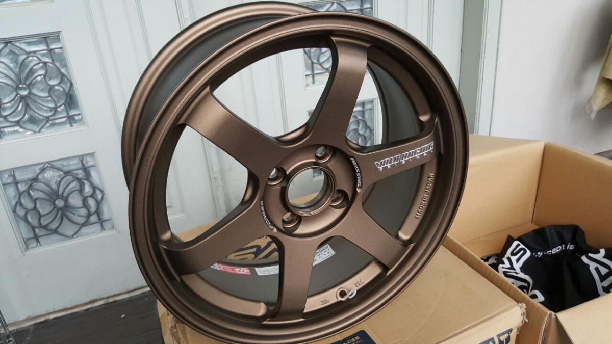Velg Volks Rays Te37 Sonic 16inch 4x100 Bronze Original